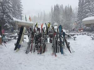 Snowy Plaza at Snowbird