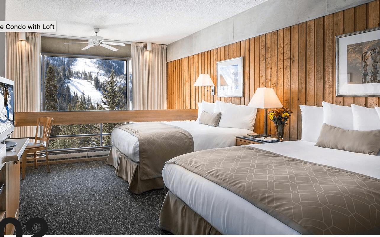 2 Beds Lodge at Snowbird