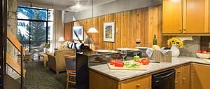 Loft Kitchen The Lodge at Snowbird