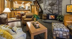 Living Room The Lodge at Snowbird
