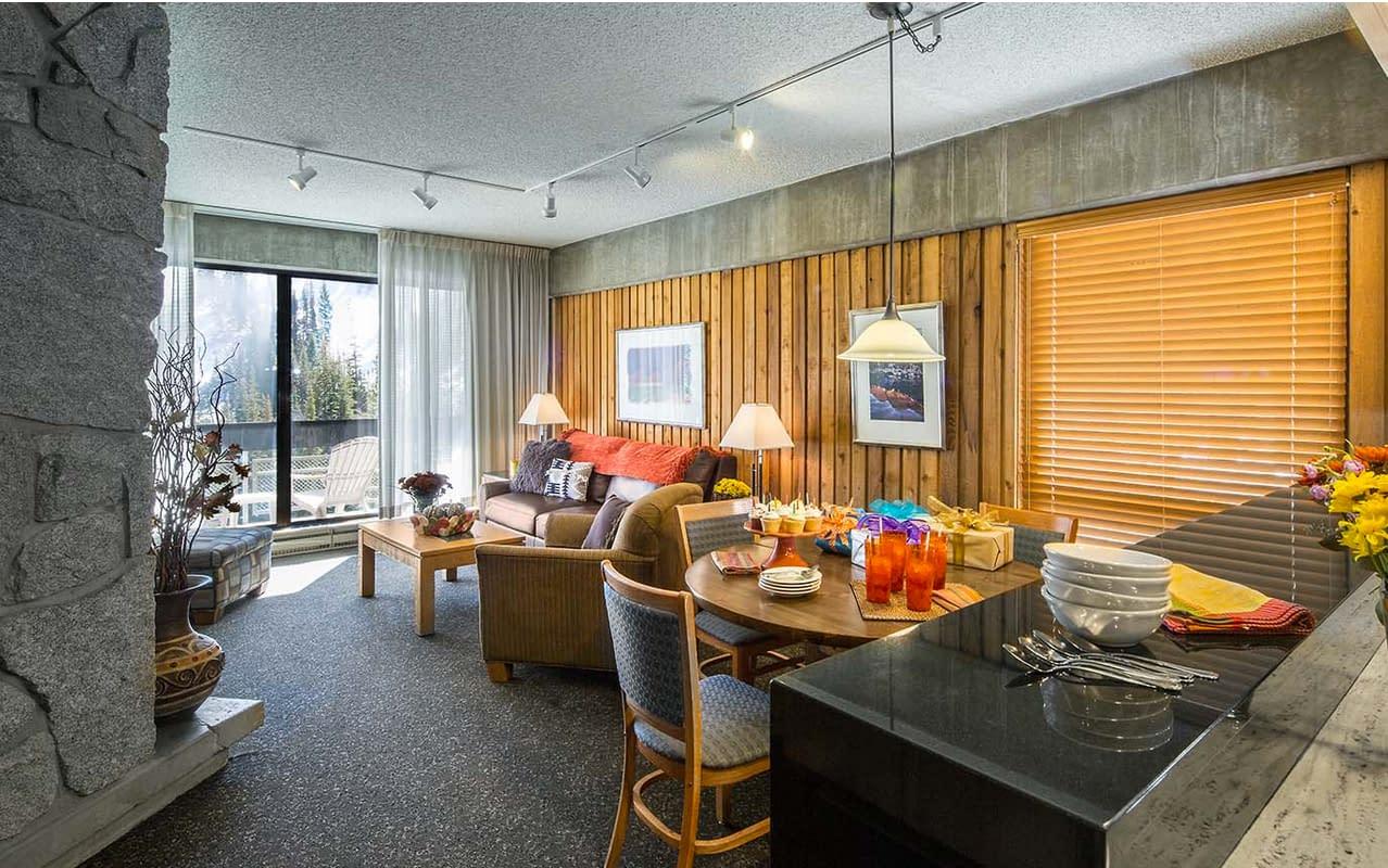 Living Room at Lodge at Snowbird