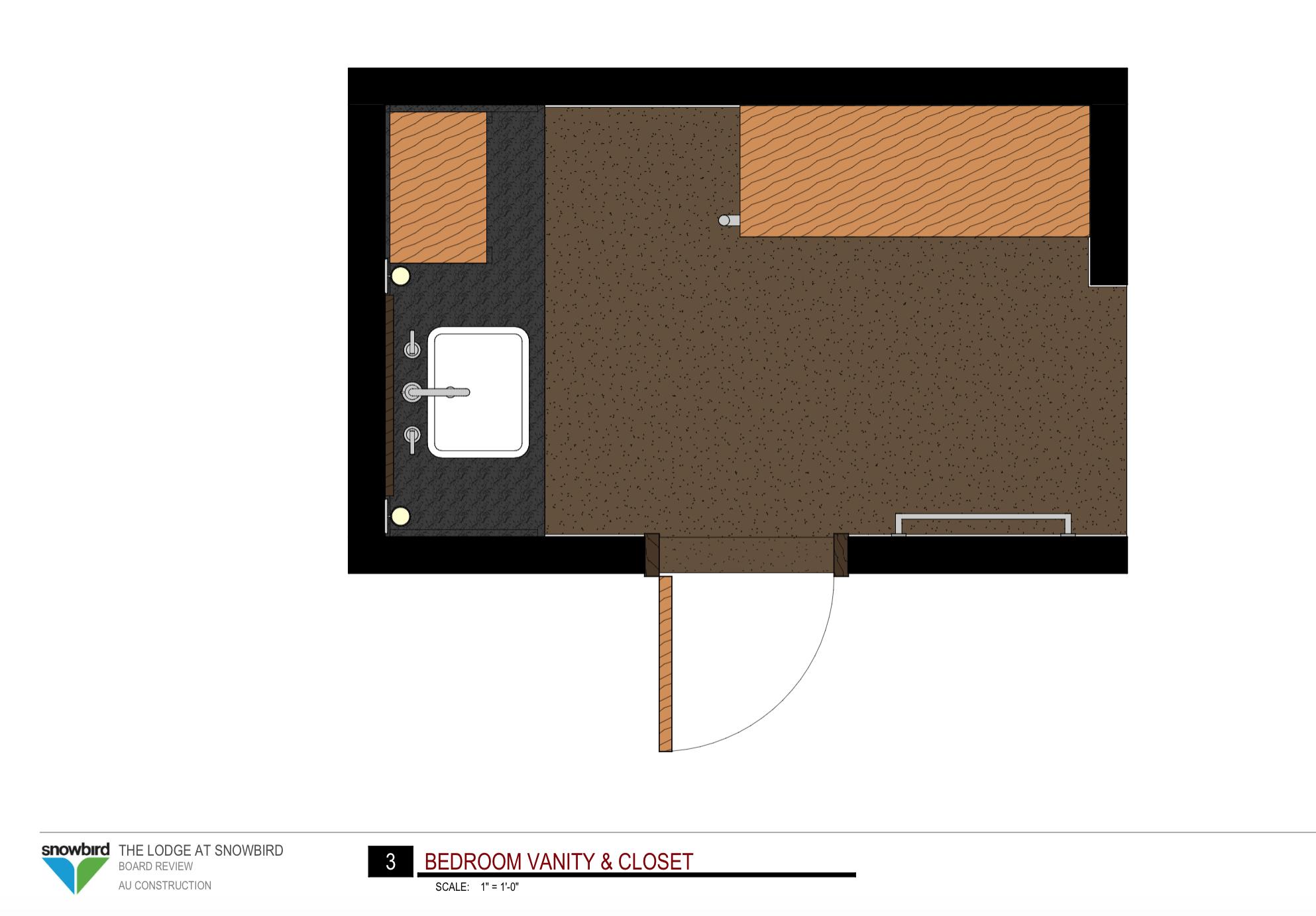 Bedroom Vanity & Closet