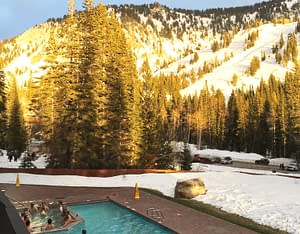 Pool The Lodge at Snowbird
